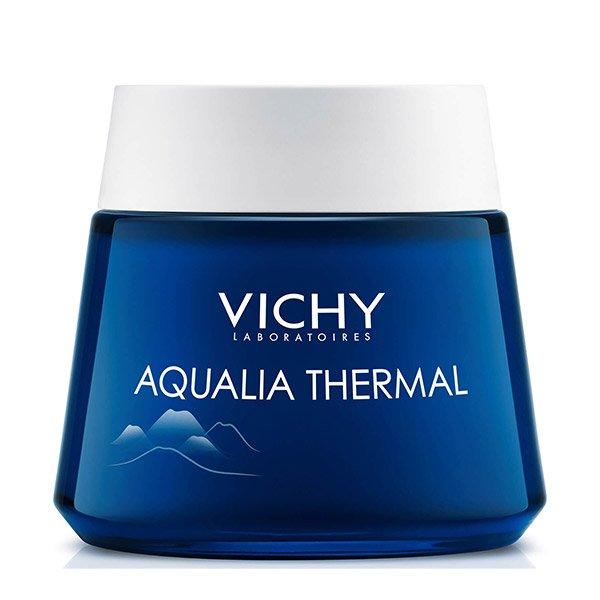 Vichy Aqualia Thermal Spa (éjszakai bőrfeltöltő krém-gél a fáradtság jelei ellen) (75ml)